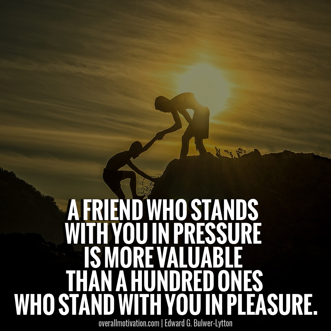 friend stand with you