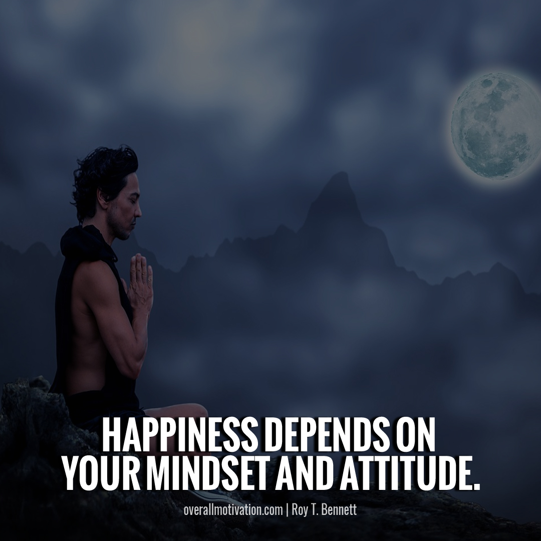 happiness is in mind