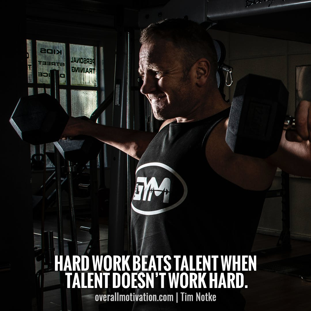 hard work beats talent_sports quotes