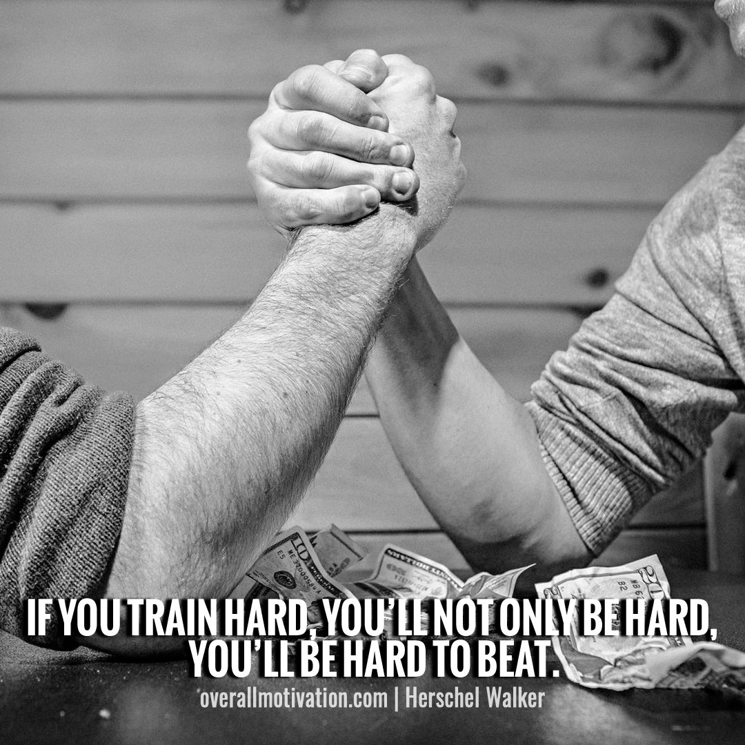 if you train hard_sports quotes