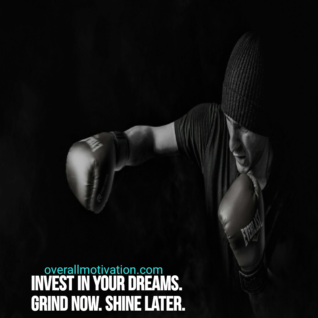 hustle quotes overallmotivation invest in your dreams