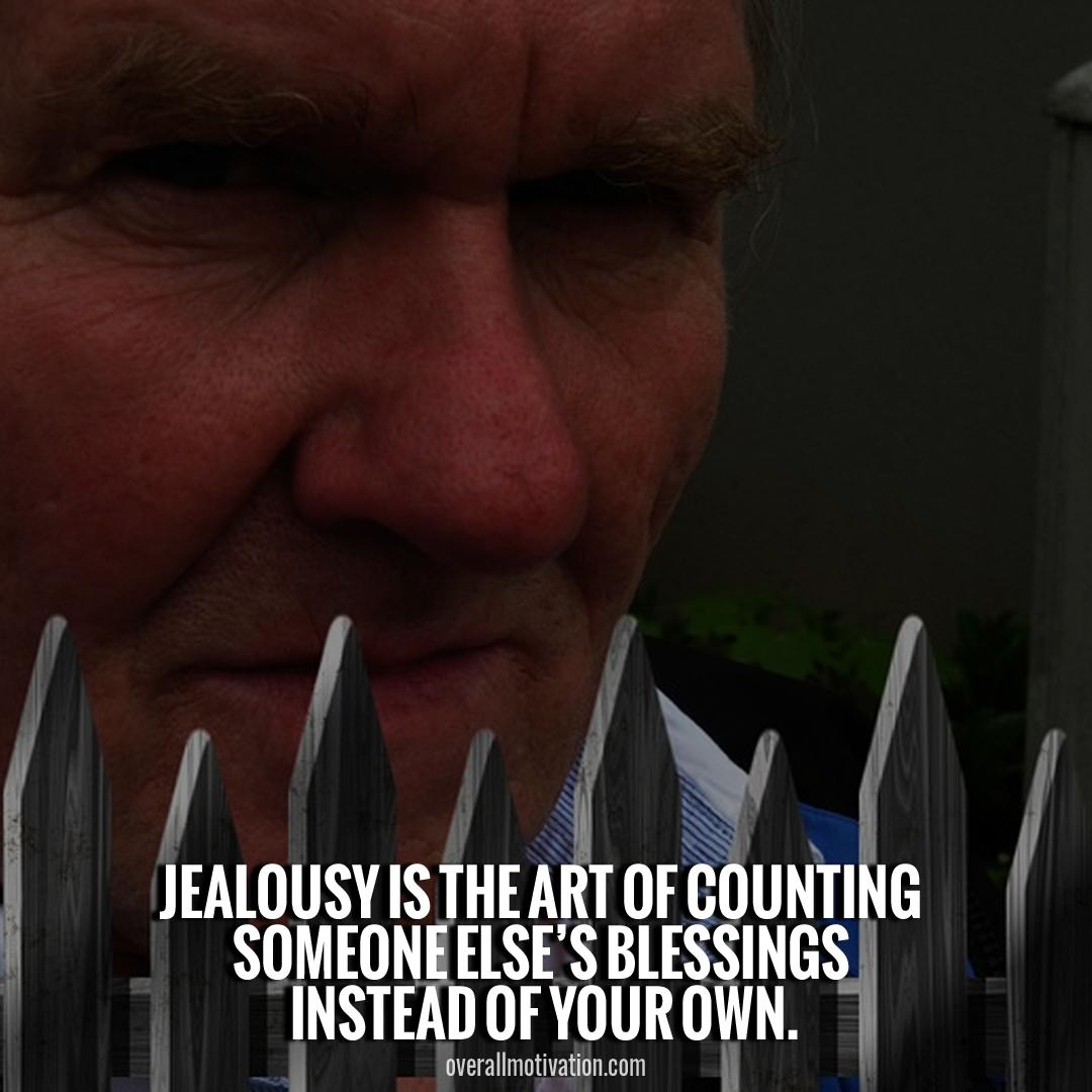 jealousy is art