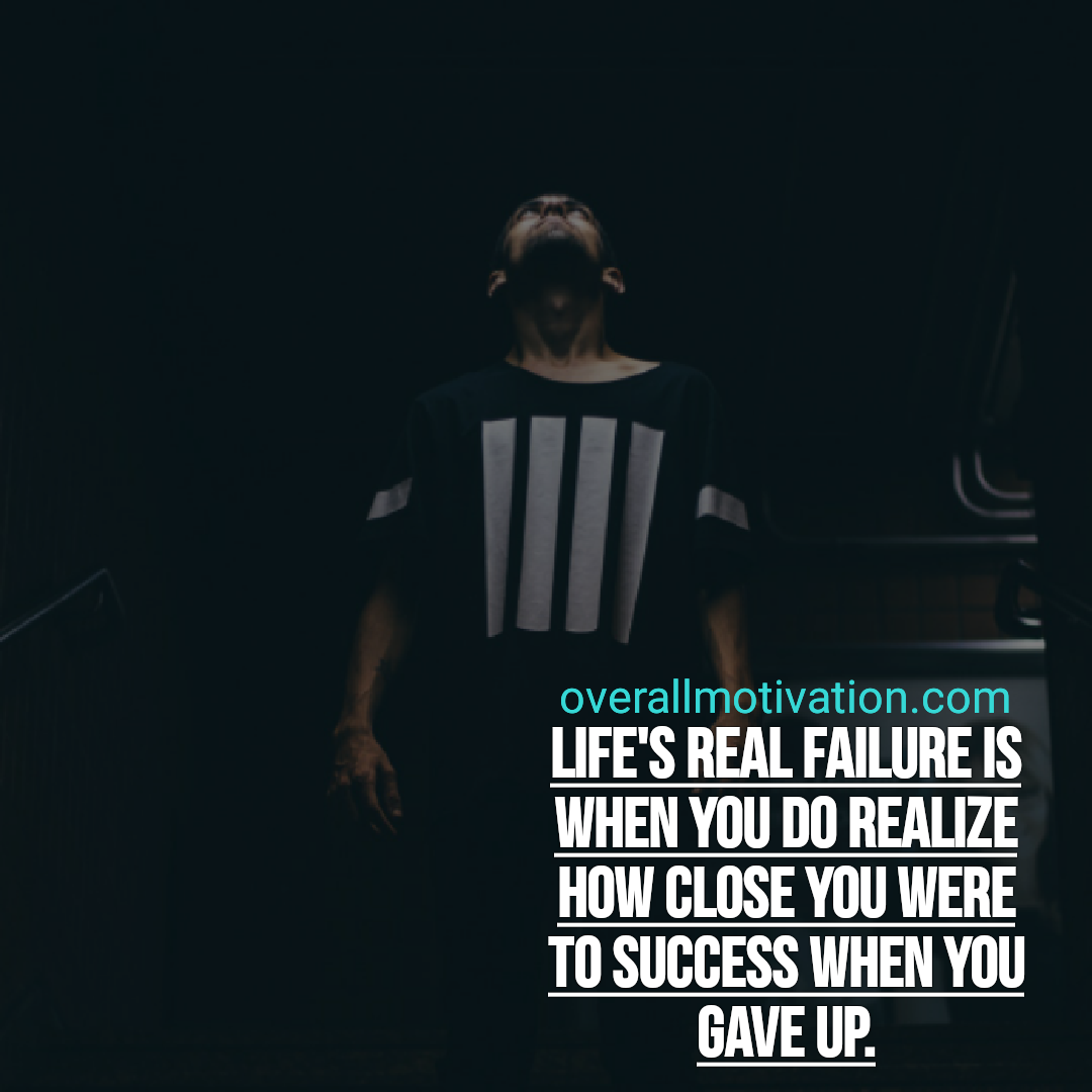 success quotes lifes real failure