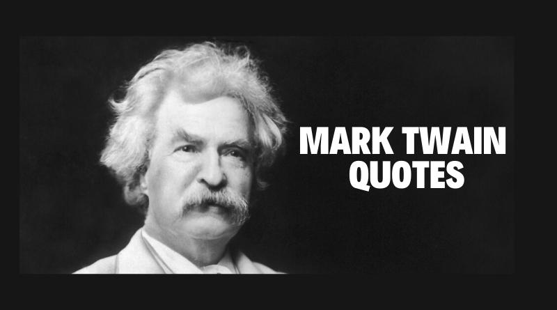 Motivational Mark Twain quotes