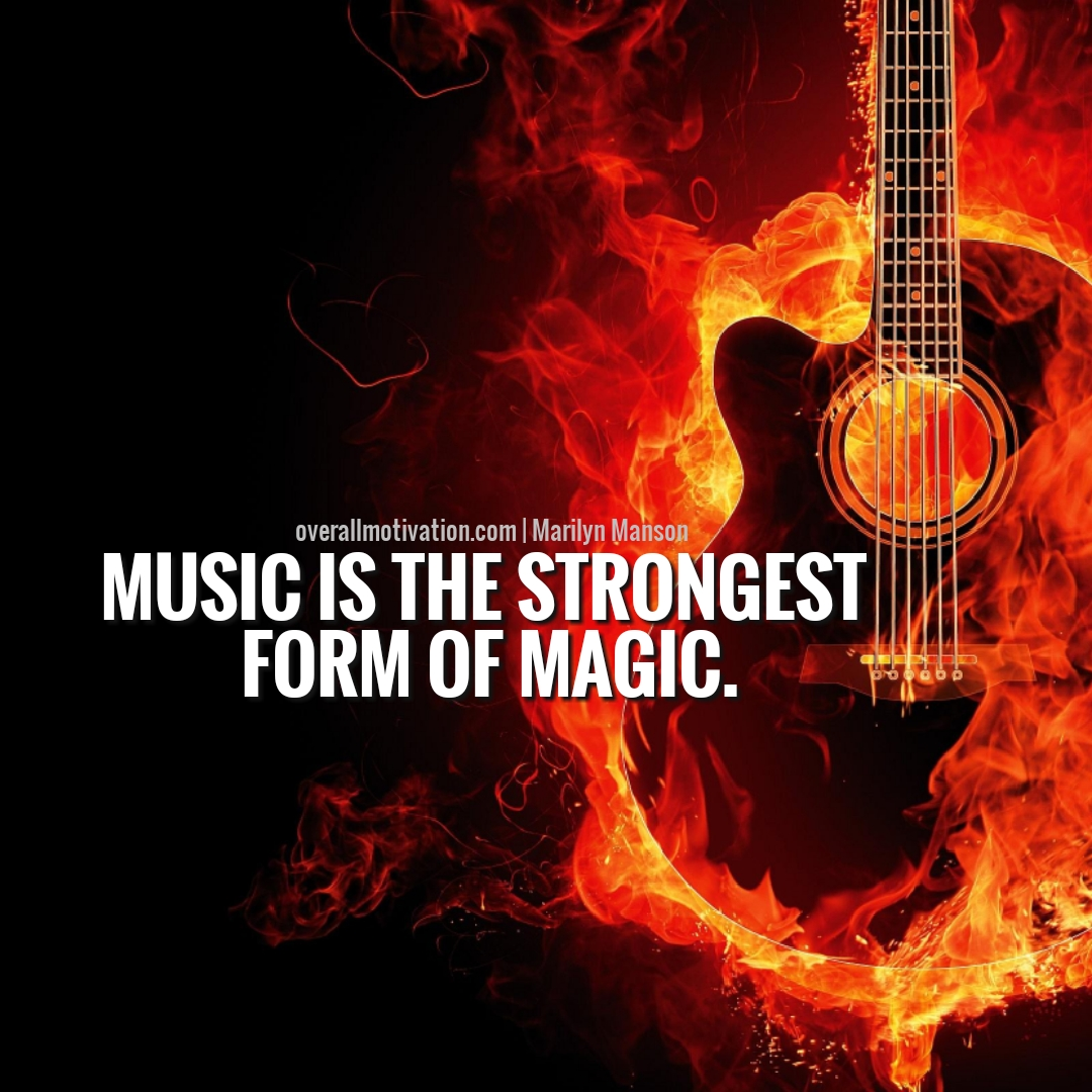 music is the strongest