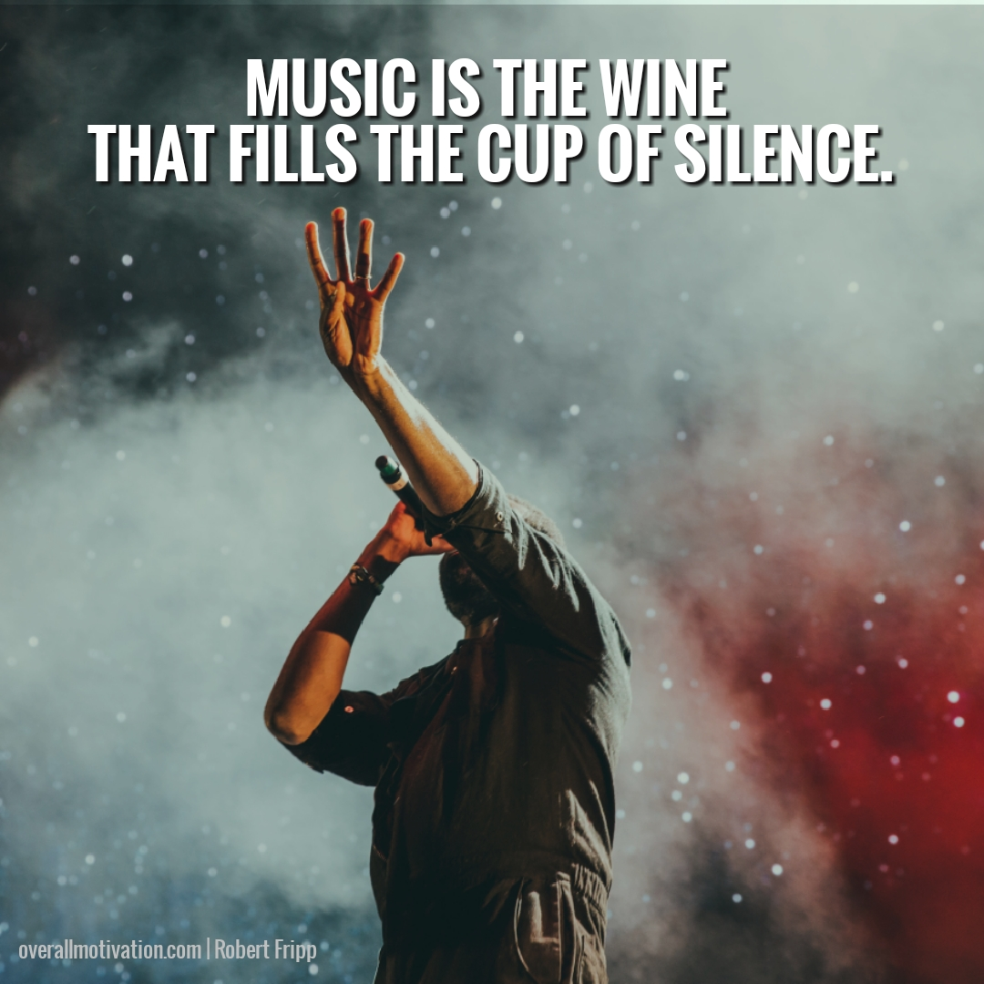 music is the wine