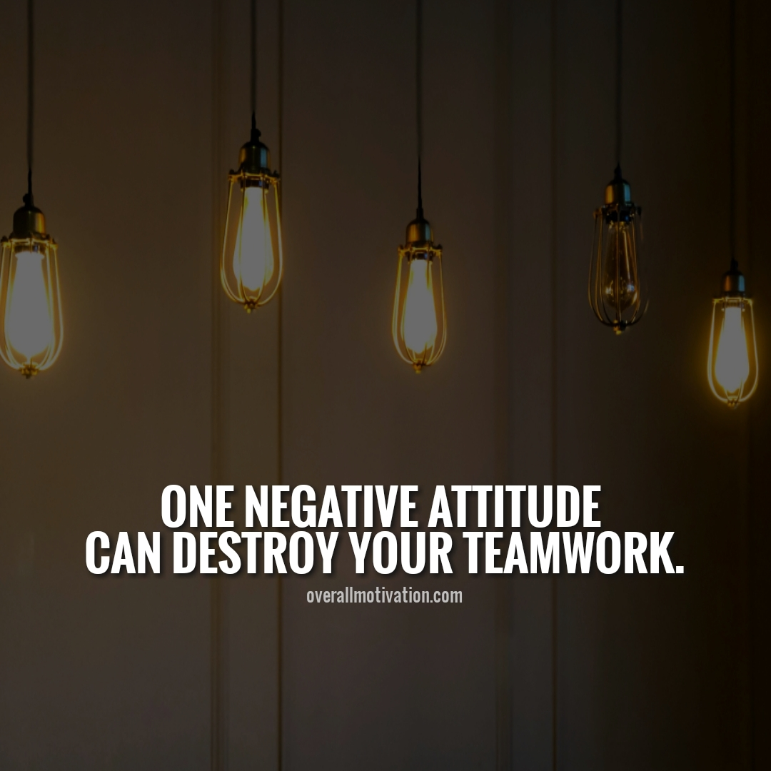 one negative attitude anonymous quotes