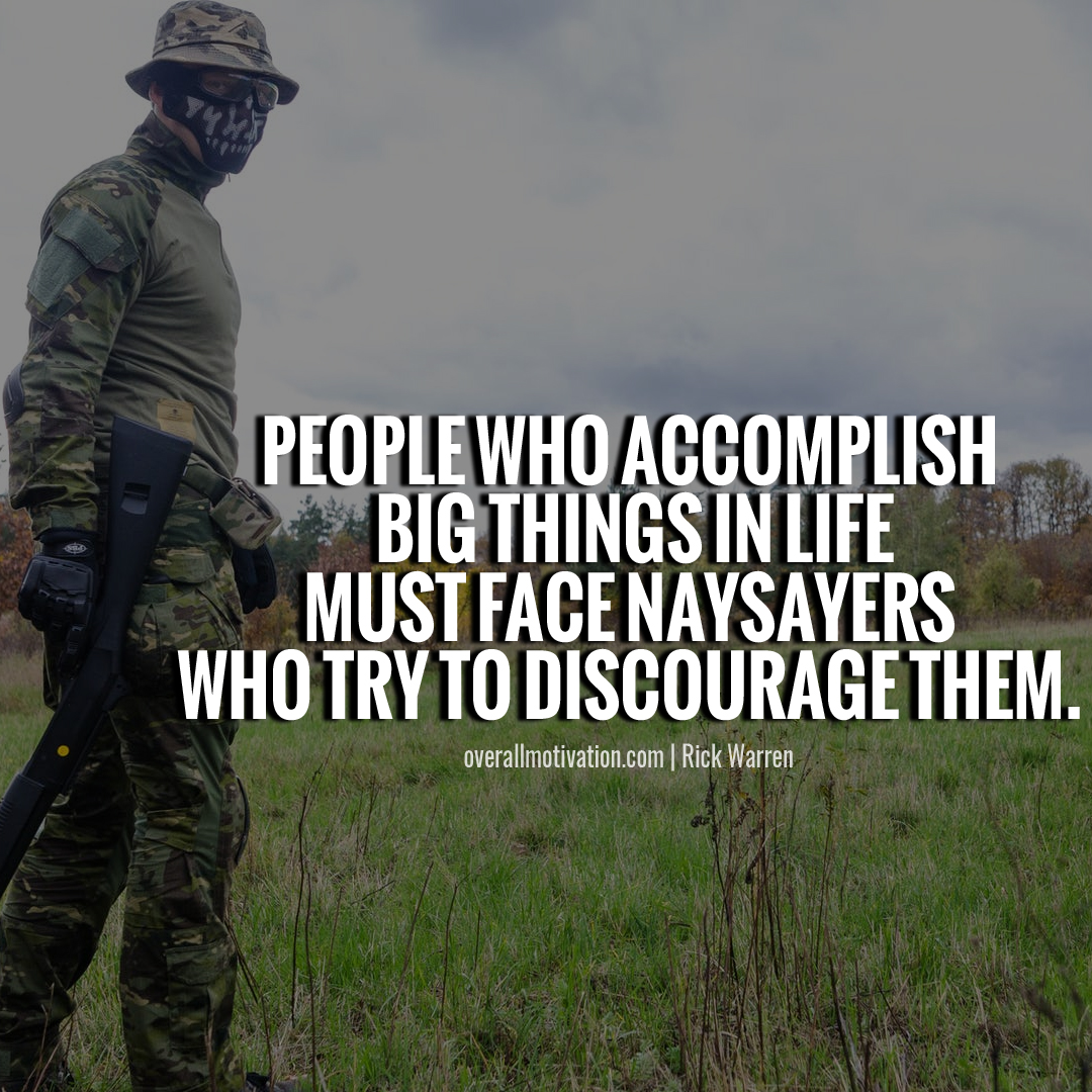 people who accomplish Purpose Driven Life Quotes