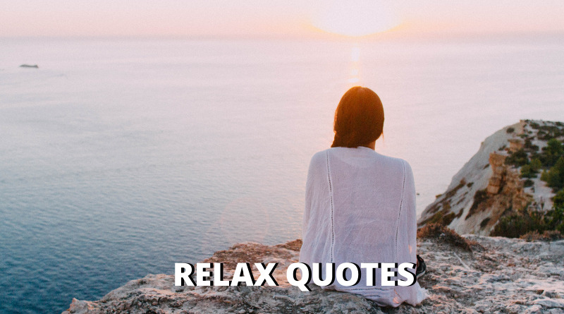 relax quotes featured