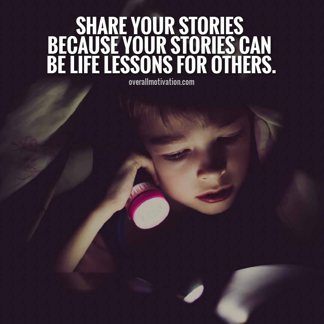 share your stories anonymous quotes