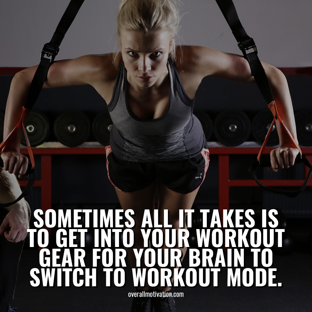 sometimes all it takes its easier to workout every day Bodybuilding Motivational Quotes