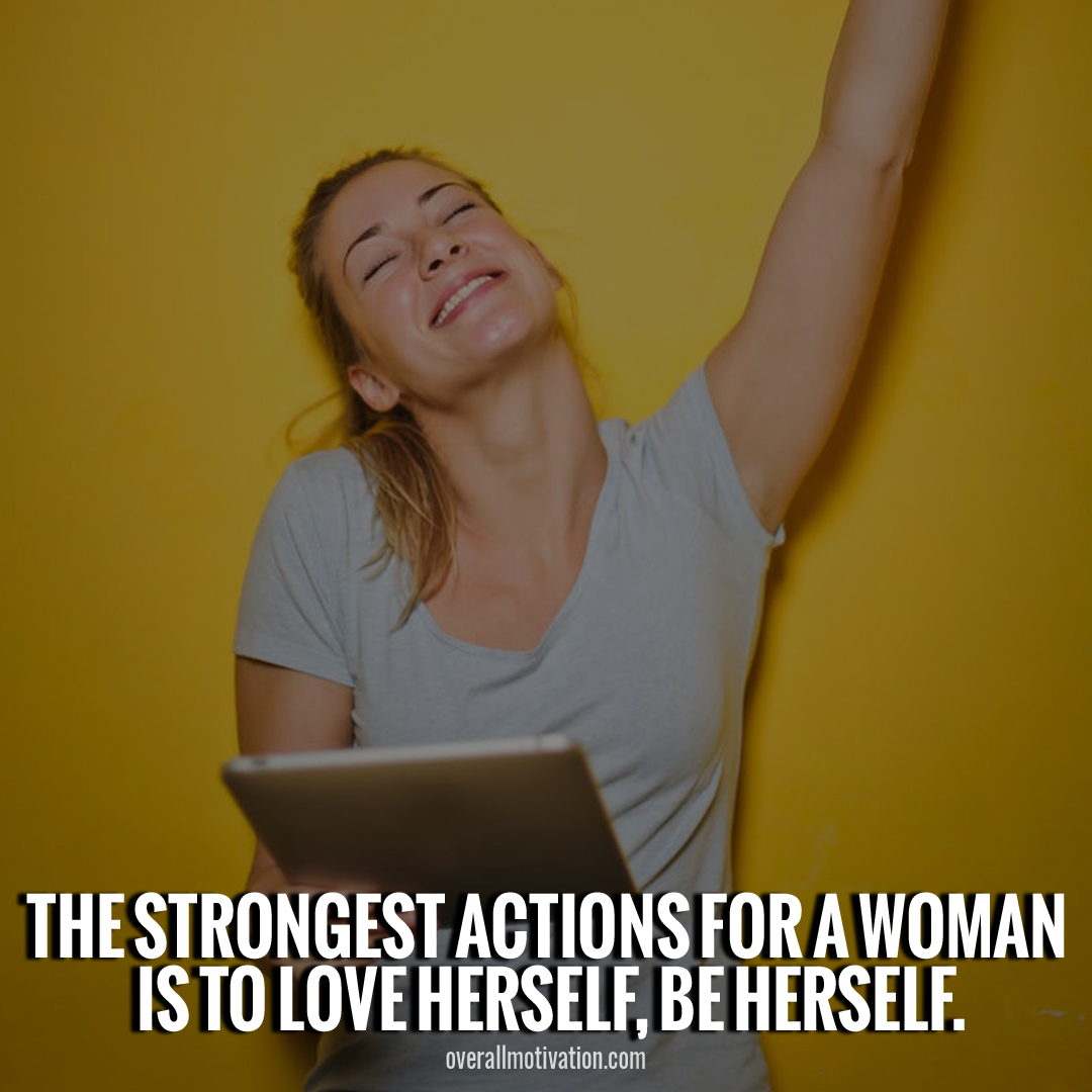 strongest action for woman