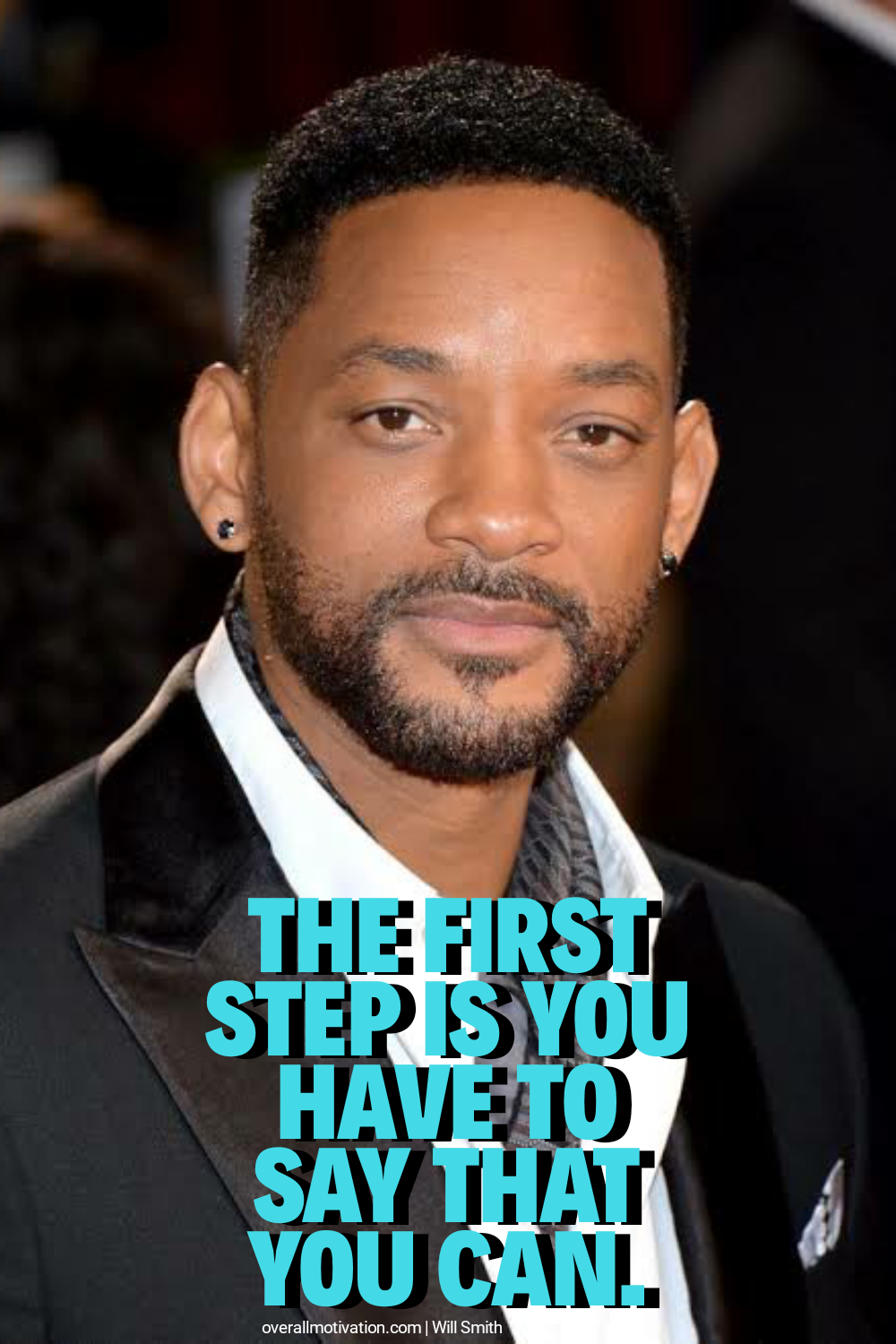 the first step you can