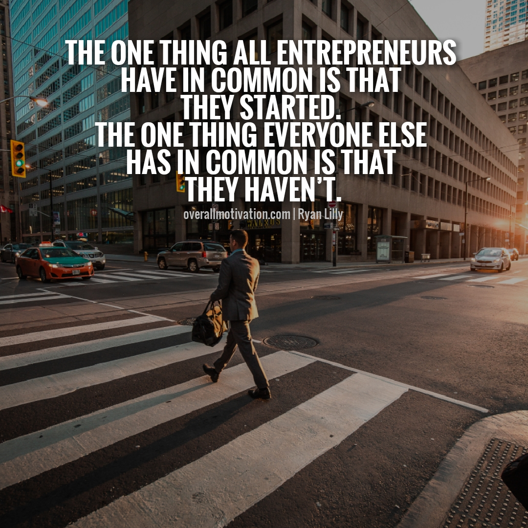 the one thing we are really entrepreneur quotes
