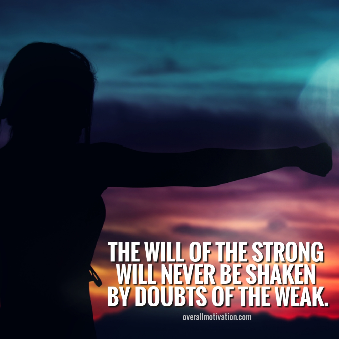 the will of the strong quotes