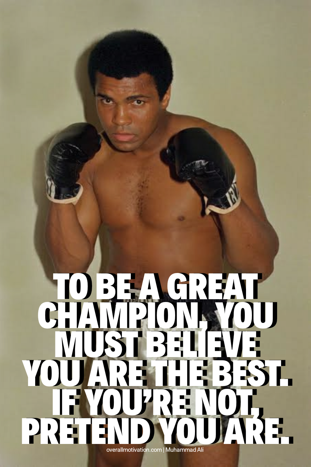 To be a great champion_Muhammad Ali Quotes