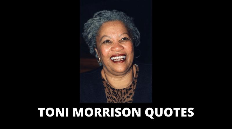 Motivational Toni Morrison Quotes