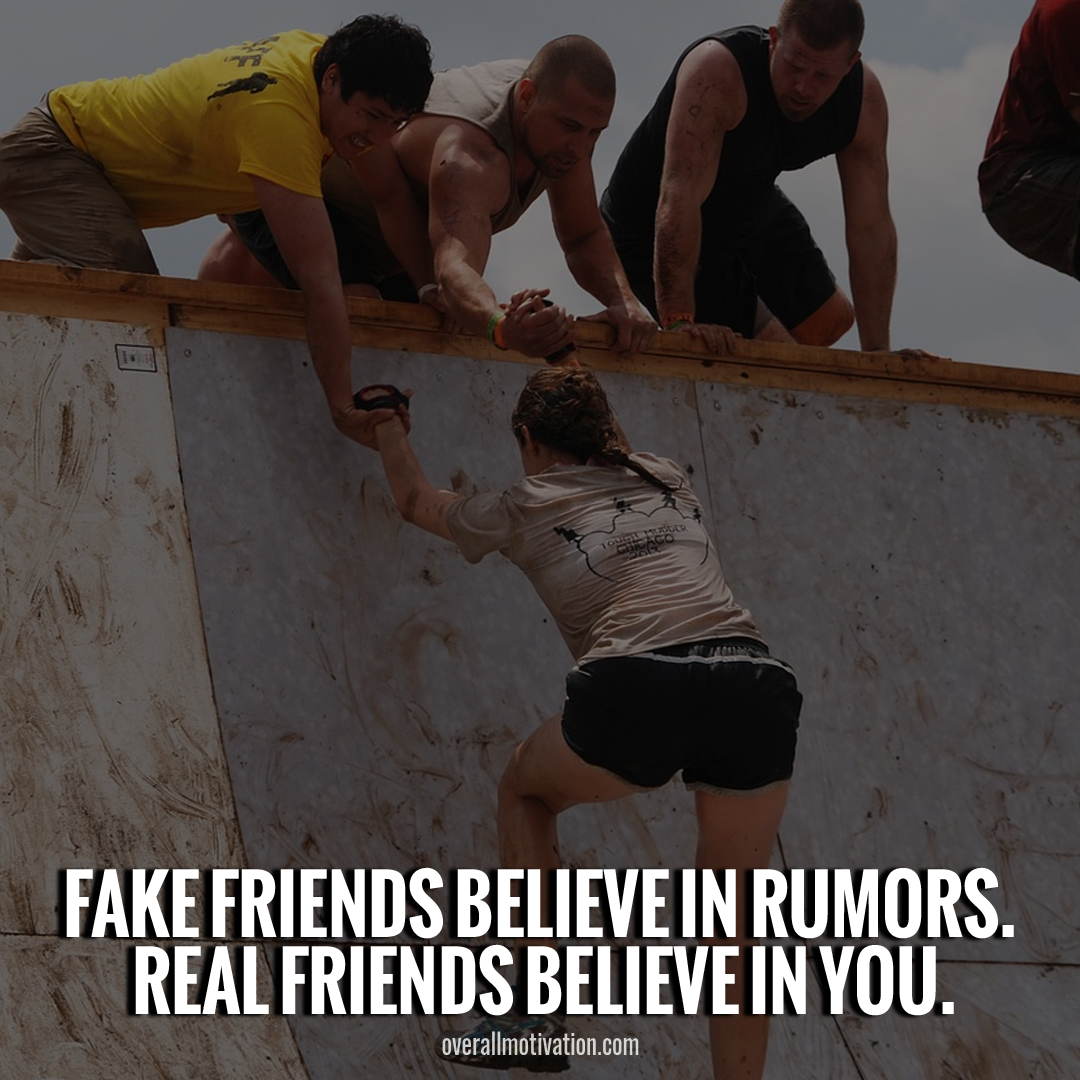 toxic friendship quotes fake friends believe in rumour