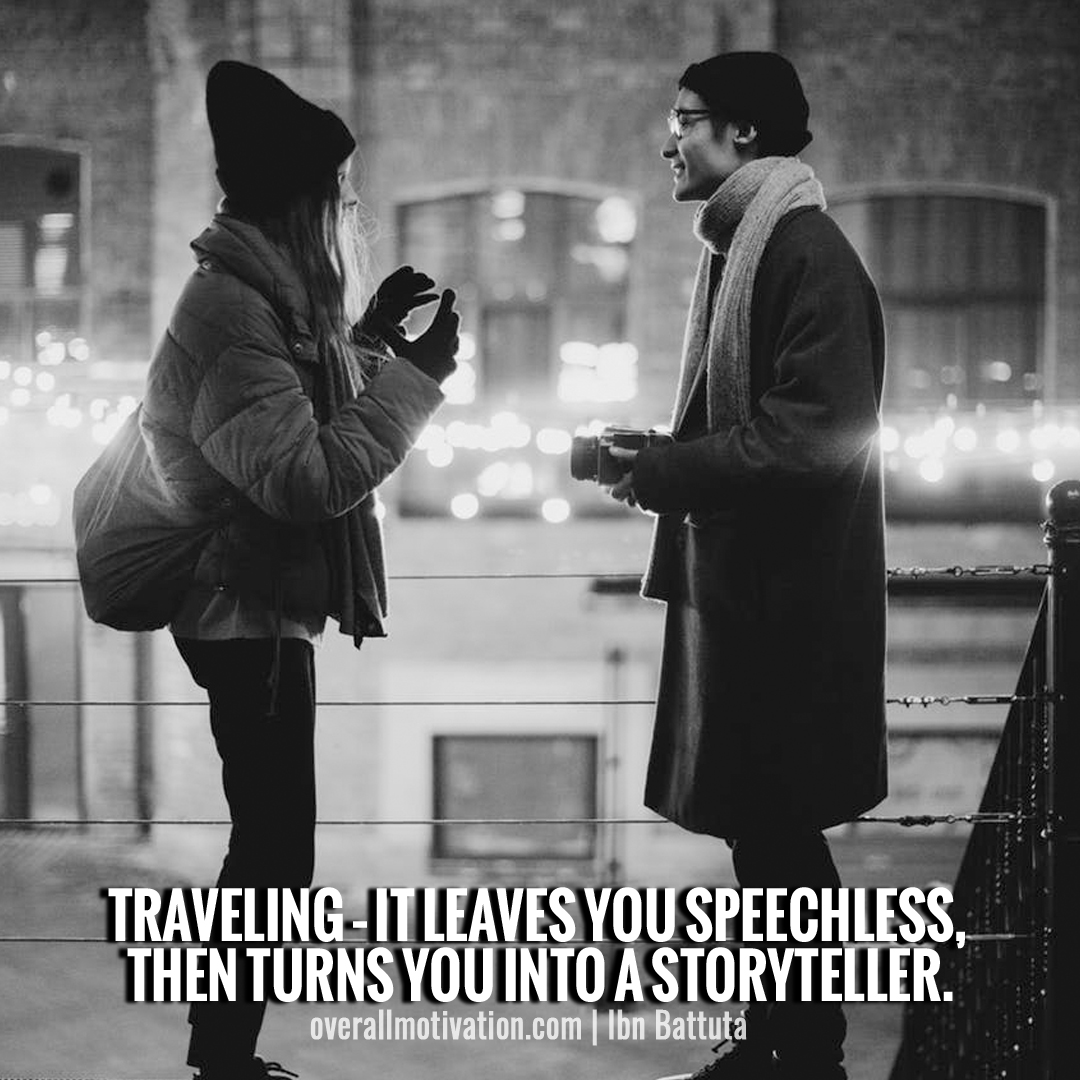 travelling it leaves you speechless