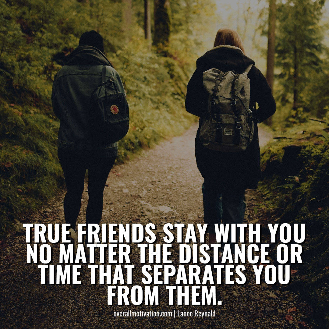 true friends stay with u