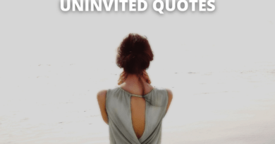 uninvited quotes featured