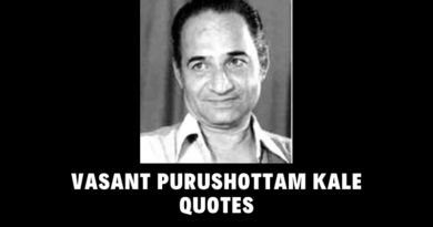 Motivational Vasant Purushottam Kale Quotes