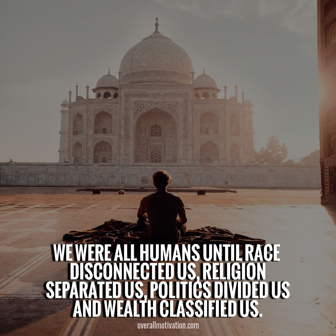 we were all humans