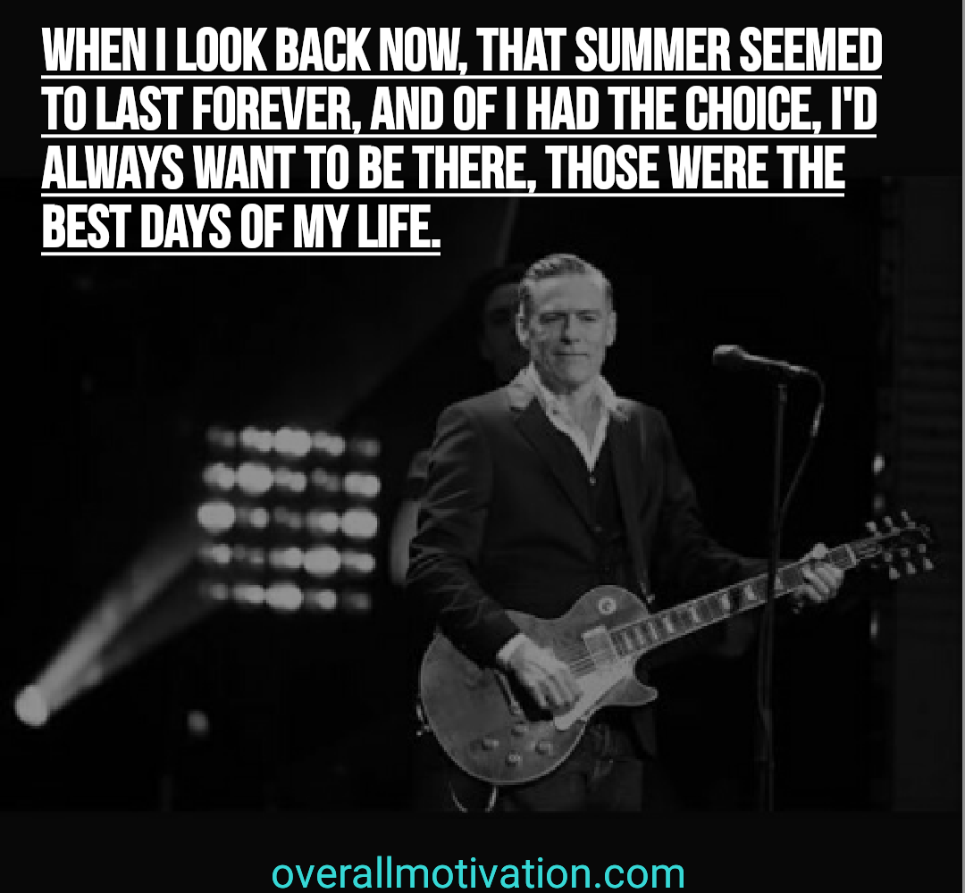 farewell quotes overallmotivation when I look back now