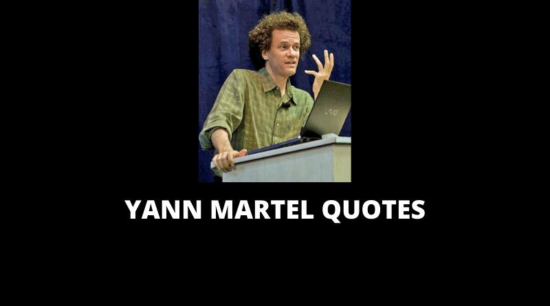 Yann Martel quotes featured