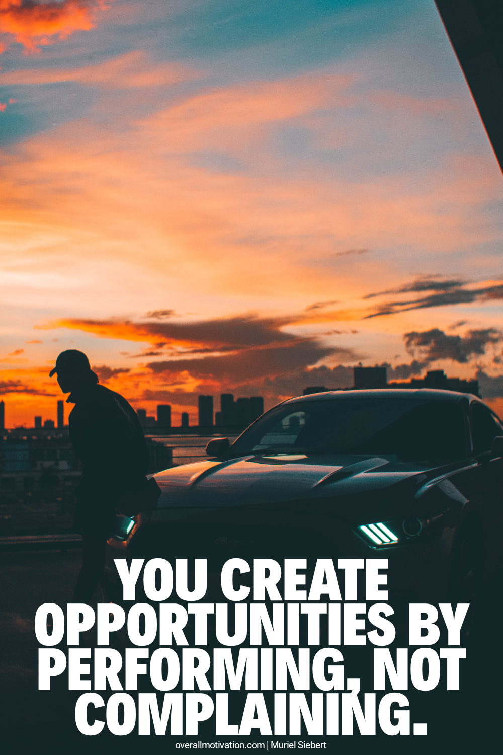 you create opportunities