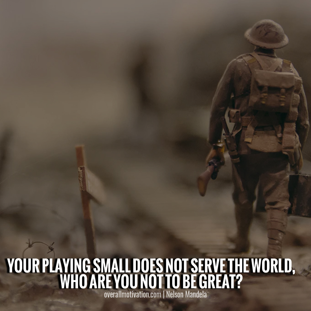 your playing small_nelson mandela quotes